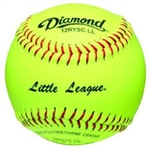 Diamond Official Little League Fastpitch Softballs - 6 Dozen