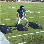 Pro Down Football 12-Inch Height Step-Over Dummies