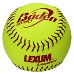 "baden 2a311fly-1 lexum asa 11"" fast pitch softballs dozen"