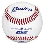 baden 2bbg high school league leather baseballs dozen