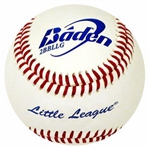 baden 2bbllg-01 little league game baseballs dozen