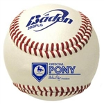 baden 2bbplg-02 pony league game baseballs dozen