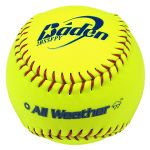"baden 12"" all weather series fastpitch ball dozen"