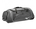 mizuno samurai 4 baseball softball catchers wheeled equipment bag 360179