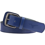 Mizuno Adult Classic Leather Baseball Belt 370146
