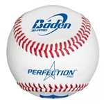 baden perfection nabf college leather baseballs dozen