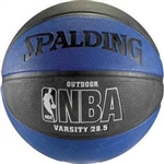 "Spalding NBA Varsity 28.5"" Rubber Basketball"