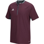 Adidas Fielders Choice Short Sleeve Batting Jacket