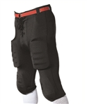Alleson Youth Lycra Football Pants With Slotted Waist