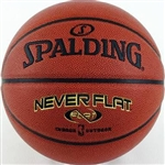 "Spalding NBA NeverFlat Composite 28.5"" Basketball"