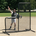 the armadillo baseball pitchers protective l-screen