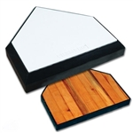 champro sports in ground home plate w  solid wood bottom