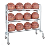 champro basketball ball rack with casters