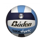 baden sandshark beach composite leather volleyball bvc18c