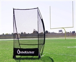 bownet solokicker portable sideline football kickers net - bowsolo