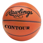 "rawlings womens franchise 28.5"" leather basketball contourw-b"