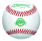 diamond dcr cal ripken leather game baseball - dozen