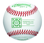 diamond dixie youth competition grade game baseballs - dozen