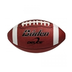 baden deuce youth full-grain leather football f7000dy