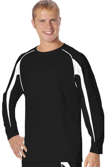 alleson gameday long sleeve team pullover - youth