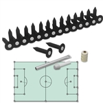 MARKERS INC Soccer Flag & Socket Set