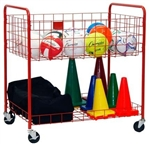 Champion Sports Ease Sports Storage Cart