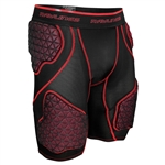 Rawlings 5 Pad D-Flexion Football Compression Shorts