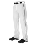 Alleson Youth Warp Knit Baseball Pant With Side Braid