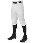 alleson pro nicker classic knee high baseball pants - adult