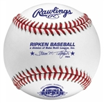 rawlings rcal1 cal ripken league game baseballs - dozen