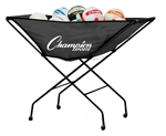 Champion Sports Collapsible Volleyball Cart