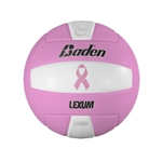 Baden VX450C Lexum NFHS Breast Cancer Game Volleyball