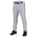 Rawlings Youth Pro Semi-Relaxed Piped Baseball Pants YPRO150P