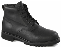 Rhino 6 inch Leather Work Boot - Black 61C01