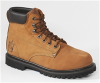 68C58 - Rhino 6 Inch Lug Nubuck Work Boot - Brown