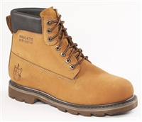68C68 - Rhino 6 Inch Nubuck Work Boot - Brown