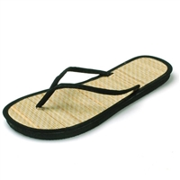 LA Beauty Women's Bamboo Flip Flops