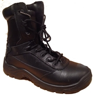 C9552 - Rhino 8 inch Tactical Boot with Alternative Side Zip - Black
