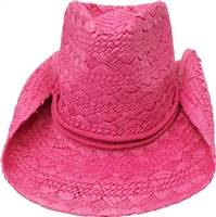 Cool Western Roundup Style Cowboy Cowgirl Straws Hat