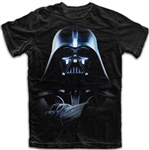 Adult Star Wars Darth Vader Commands Tee, Black