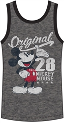 Men's Tank Mickey Mouse Original 28, Gray Black