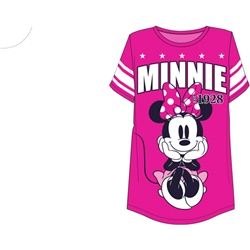 Junior Fashion Football Tee Minnie Mouse 28, Pink