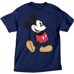 Plus Size T-Shirt Mickey Head to Toe, Navy
