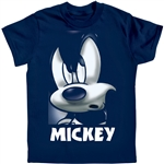 Youth Tee Shirt Mean Grill Mickey, Navy