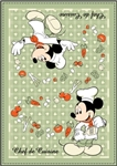 Mickey Chef de Cuisine Kitchen Towel