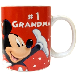 Disney #1 Grandma Mug, 11oz ceramic