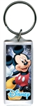 Space Magic Mickey Mouse, Lucite Rectangle Keychain