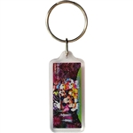 Firework Castle Lucite Keychain (Florida Namedrop)