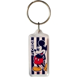 Mickey Mouse Beach Club Keychain (Florida Namedrop)