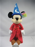 Mickey Mouse Sorcerer Plush 11 Inch